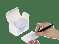 Produktbild på Plastkort med skrivbar baksida, 0,50 mm, 100 st