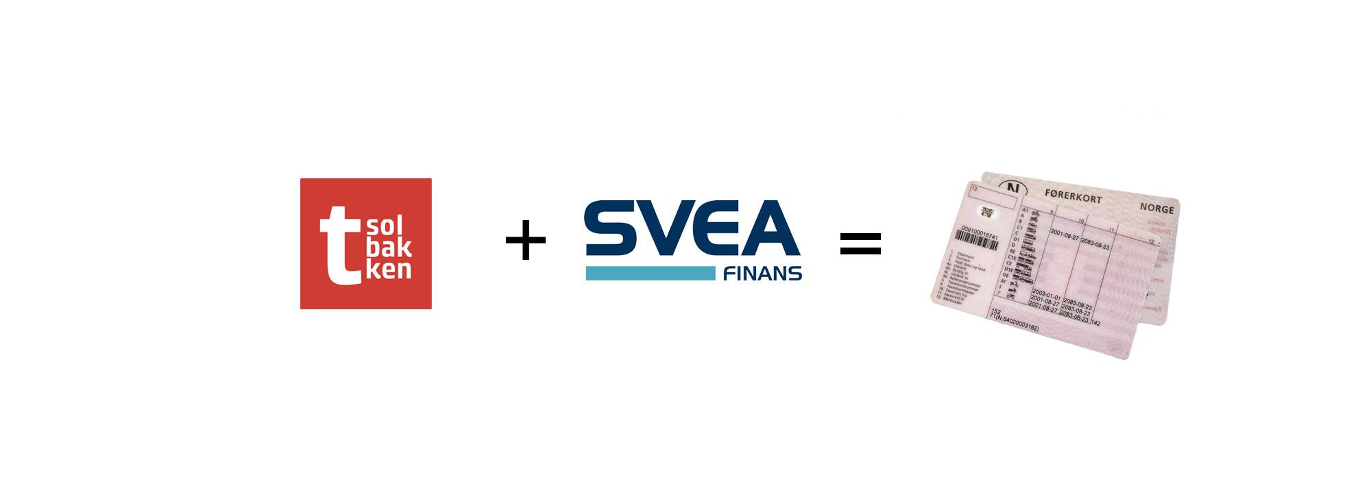 ccb99385 Svea finans + Tsolbakken = Ta sertifikatet med delbetaling
