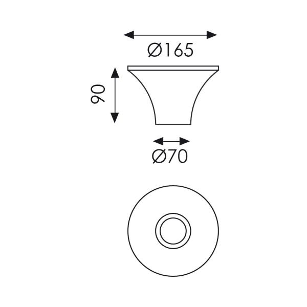 3358-9 blanco acb iluminancion specs