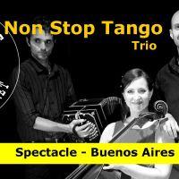 Concert avec NonStop Tango Trio
