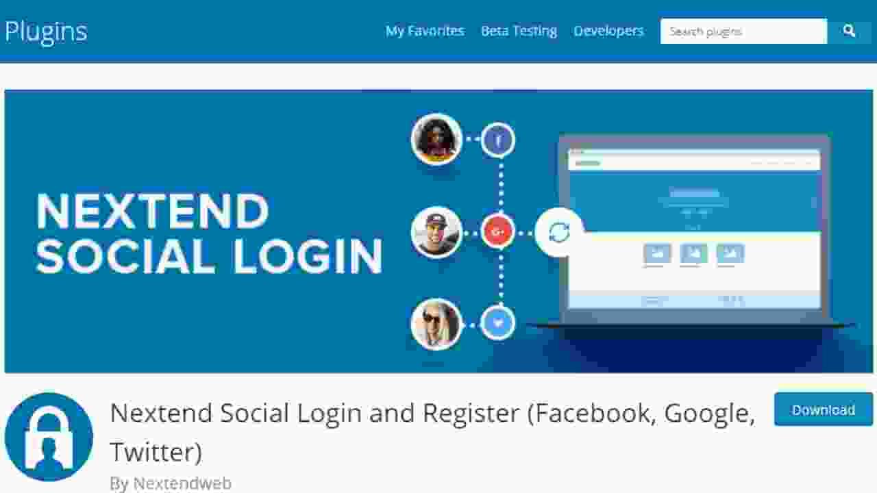 Nextend Social Login And Registration Plugin