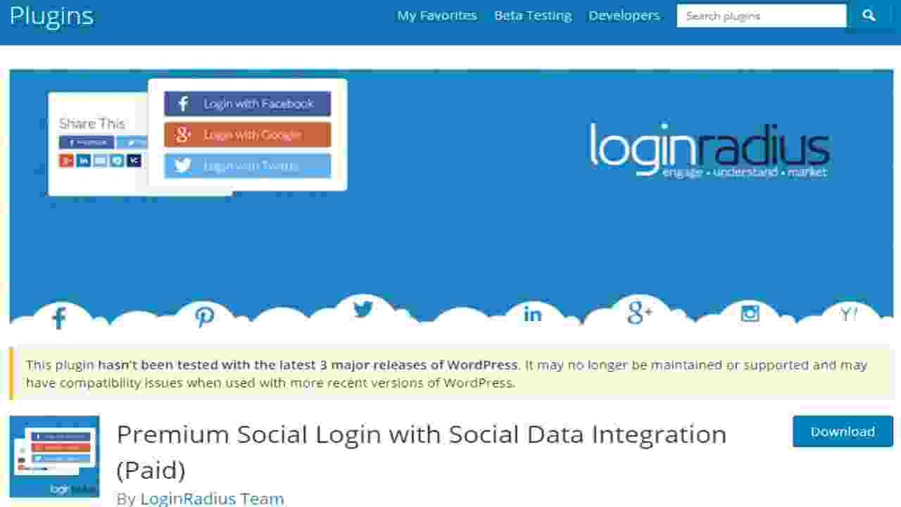 Premium-Social-login-radius