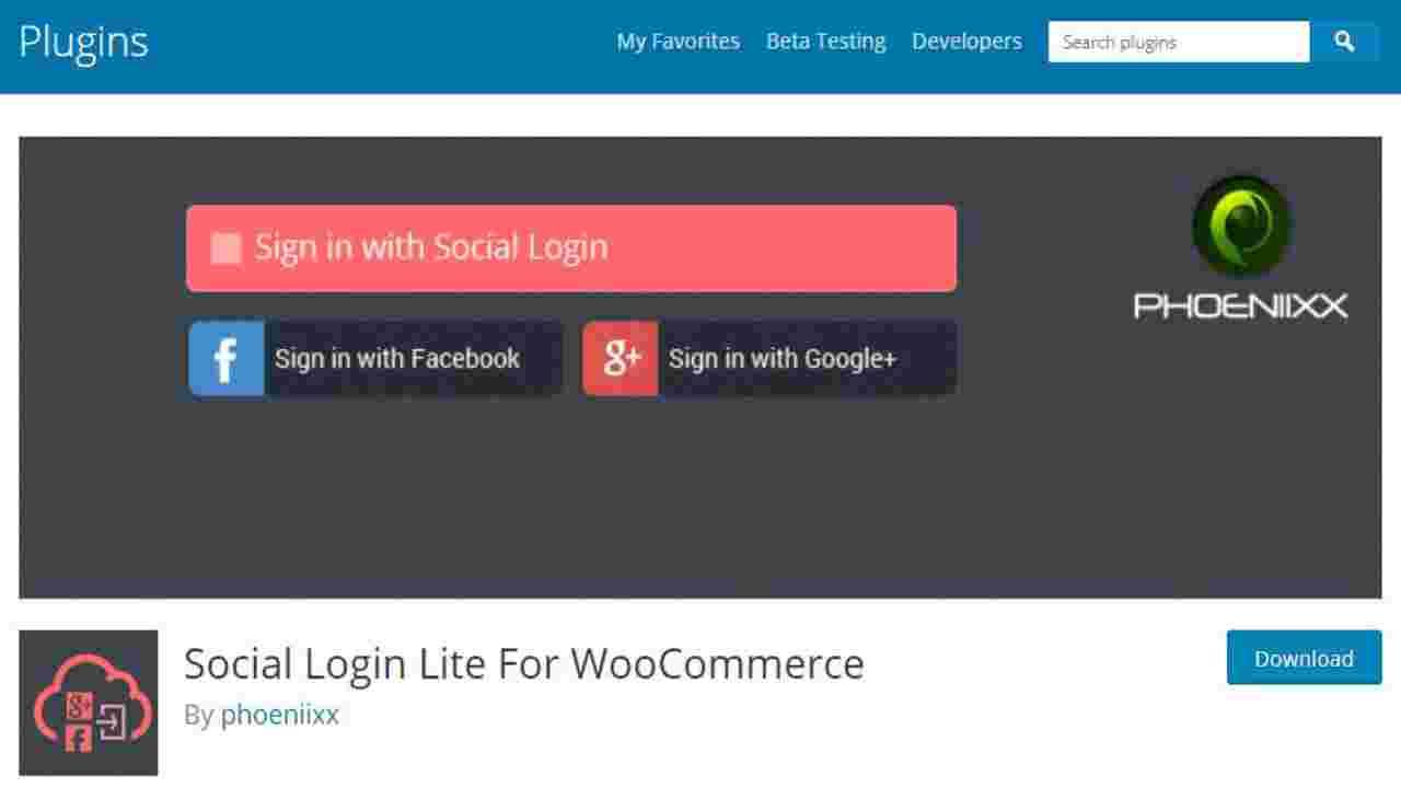 Social-Login-Lite-For-Woocomerce