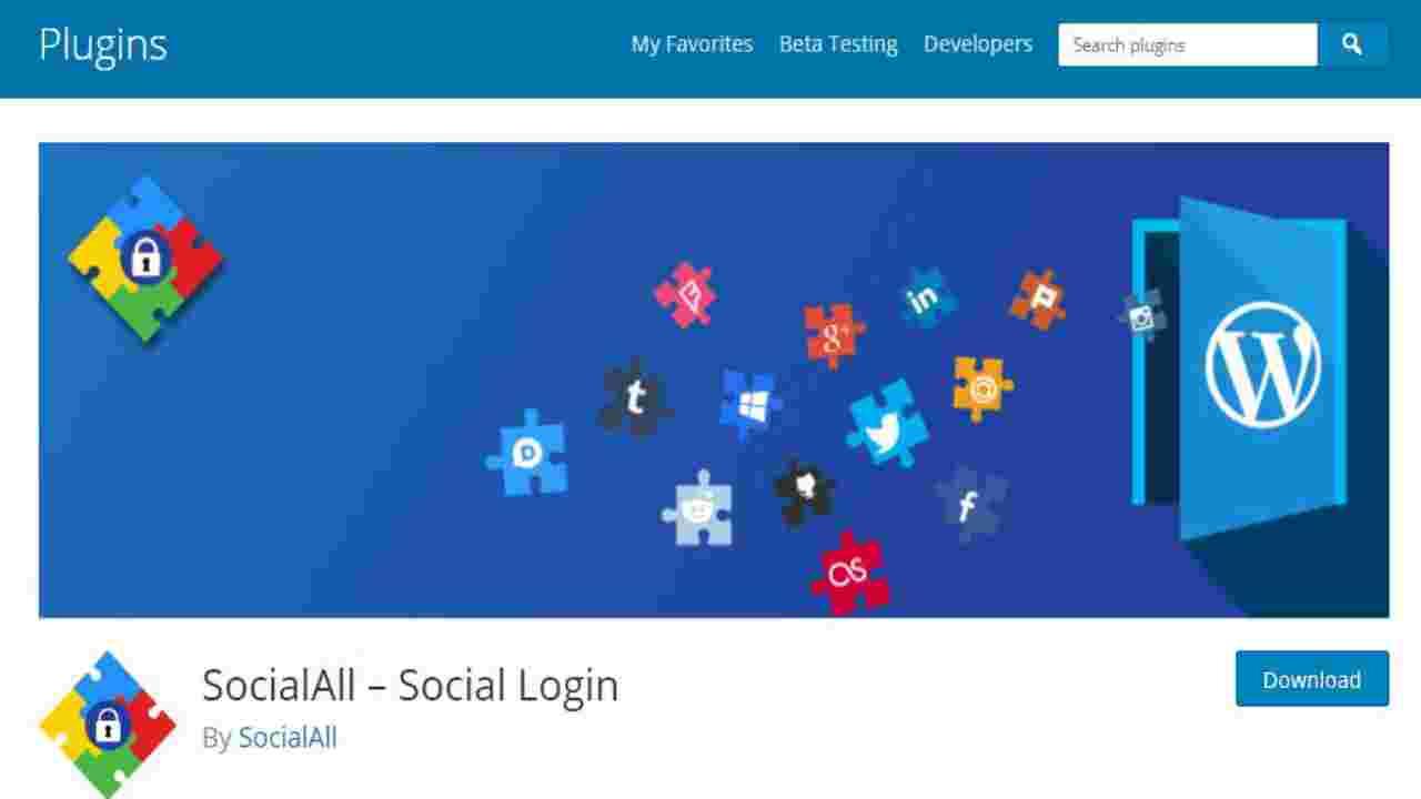 Socialall-WordPress-Social-Login-Plugin