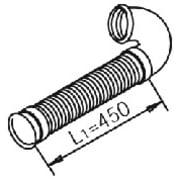 Rør til DAF - lengde 570mm