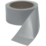 Presenningtape sølv - 5 meter - PVC