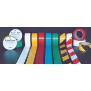 Tape i slitesterk PVC - 50mm x 33m - svart/gul