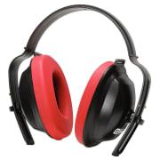 Hørselvern med hodebøyle, rød