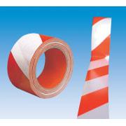 Sperrebånd rød/hvit 60mm (66m)