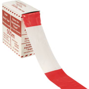 Sperrebånd rød/hvit