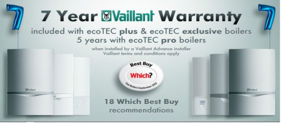 Vaillant advanced installer who offers Northampton landlords and homeowners, professional installations and 5-7 year warranties.