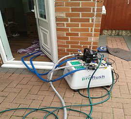 Professional power flushing from £300