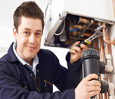 Removing dirt from your central heating systems, to prevent boiler faults and breakdowns.