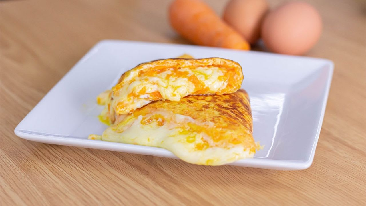 Omelette de Zanahoria