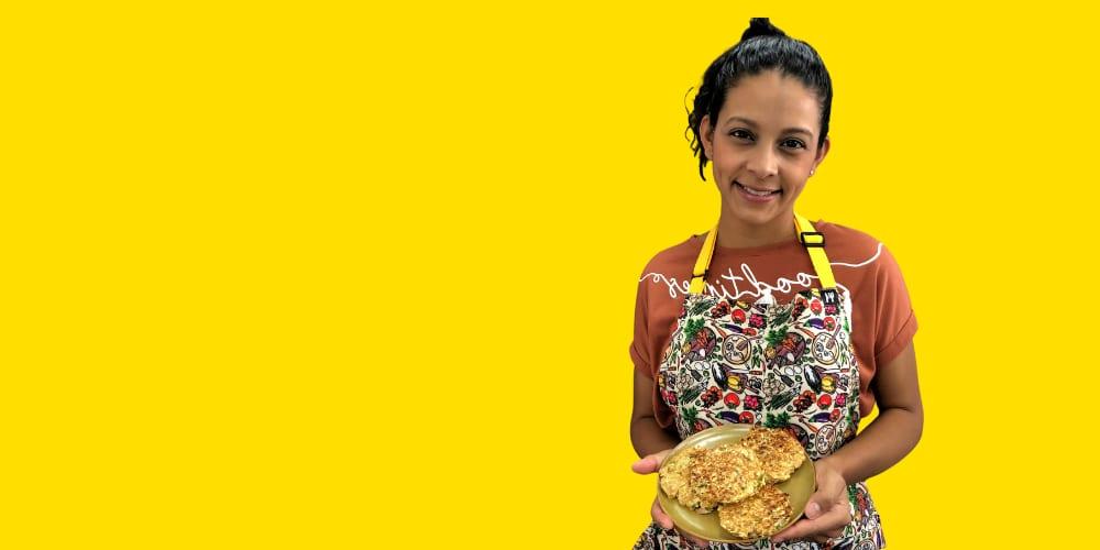 Tortilla de Atún con Avena