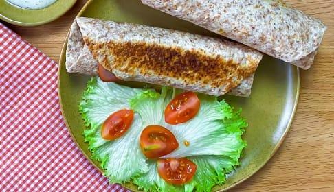 Tortillas de queso y jamón