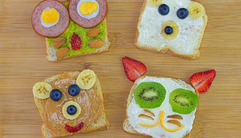tostadas-saludables-para-niños