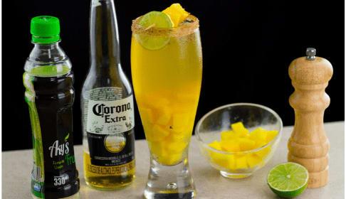 coctel michelada cerveza corona