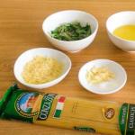 pasta en salsa pesto