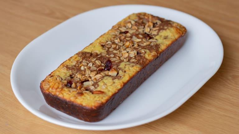 Vainilla Cake con Granola