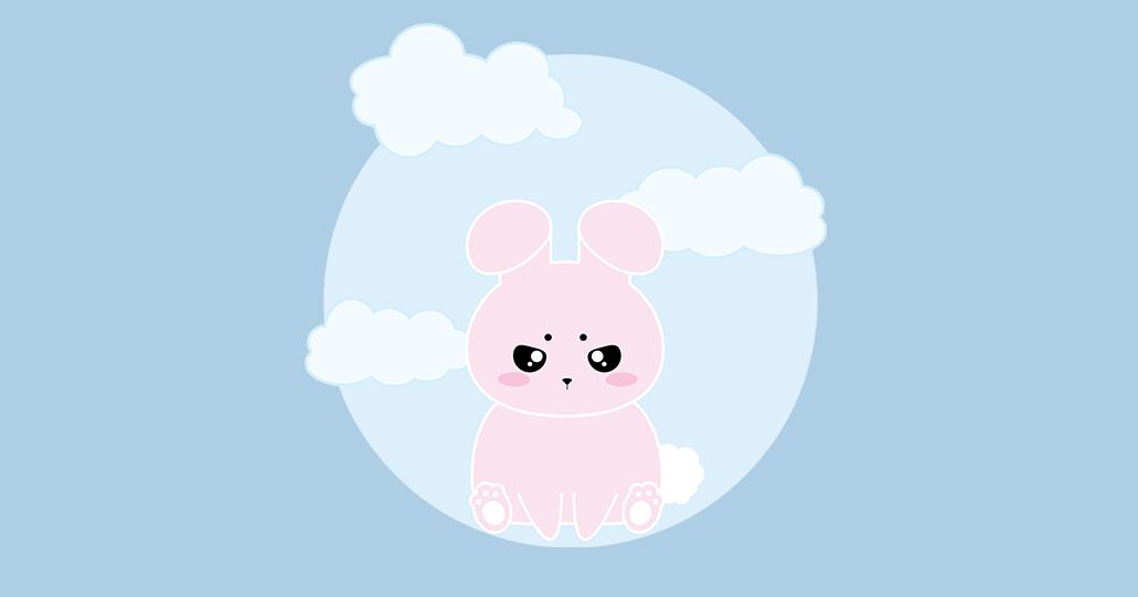 Pax bunny character