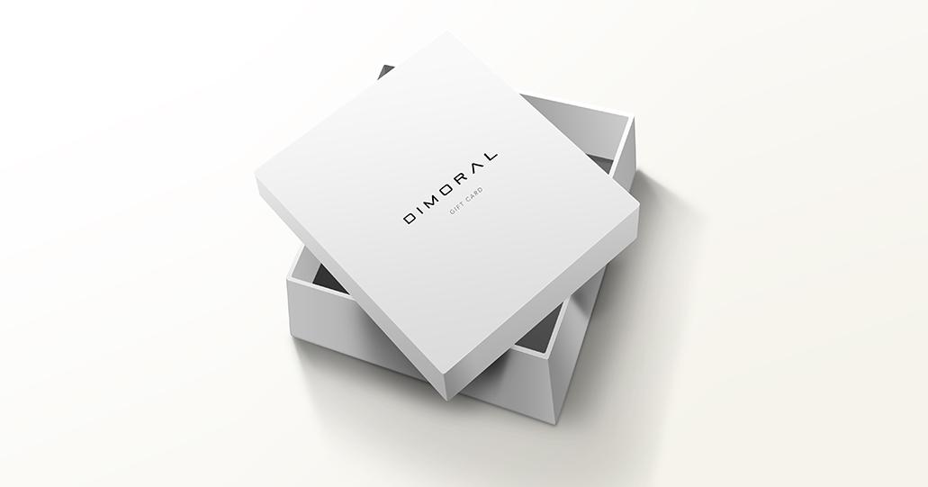 Dimoral Gift box E-giftcard giftcard