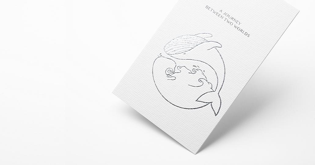 Whale logo Business card design | Tucreate