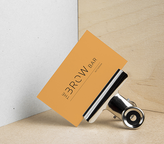 The Brow Bar Rotterdam Business card