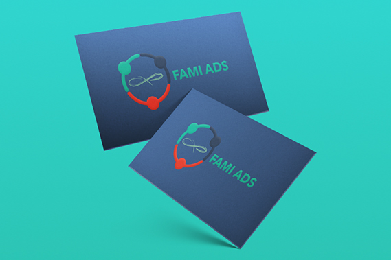 Fami Ads B.V. business card