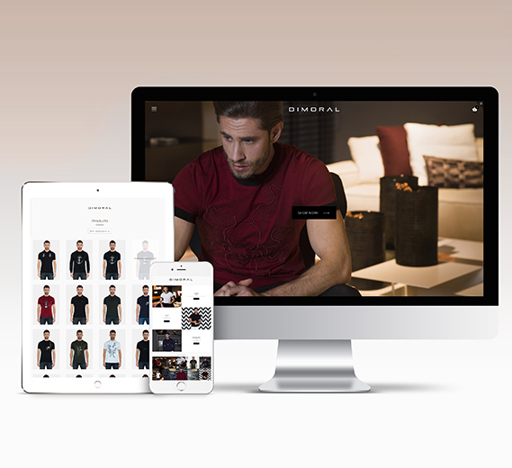 Dimoral men's fashion webshop
