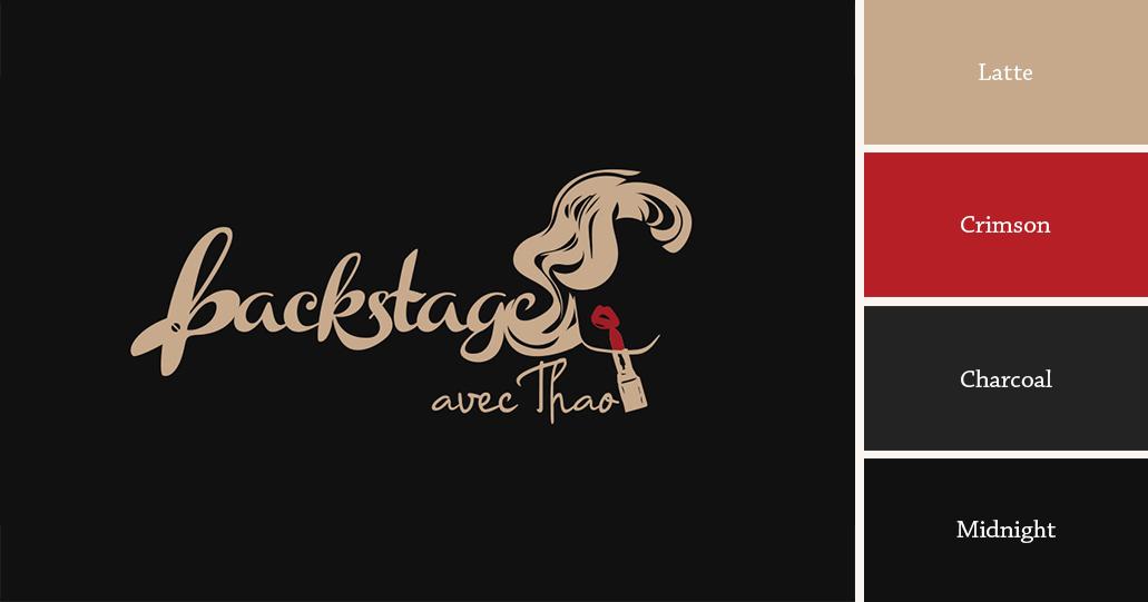 Color Palette Backstage avec Thao