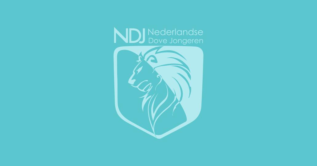 NDJ Nederlandse Dove Jongeren Logo