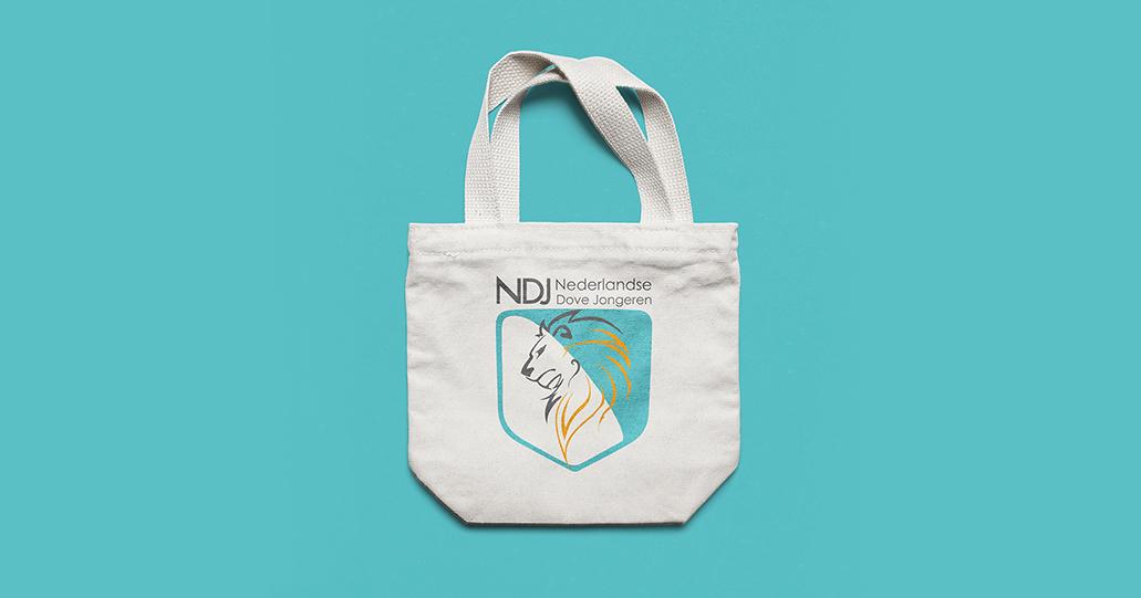 Tote Bag Nederlandse Dove Jongeren NDJ