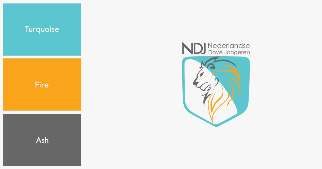 Color Palette NDJ Nederlandse Dove Jongeren