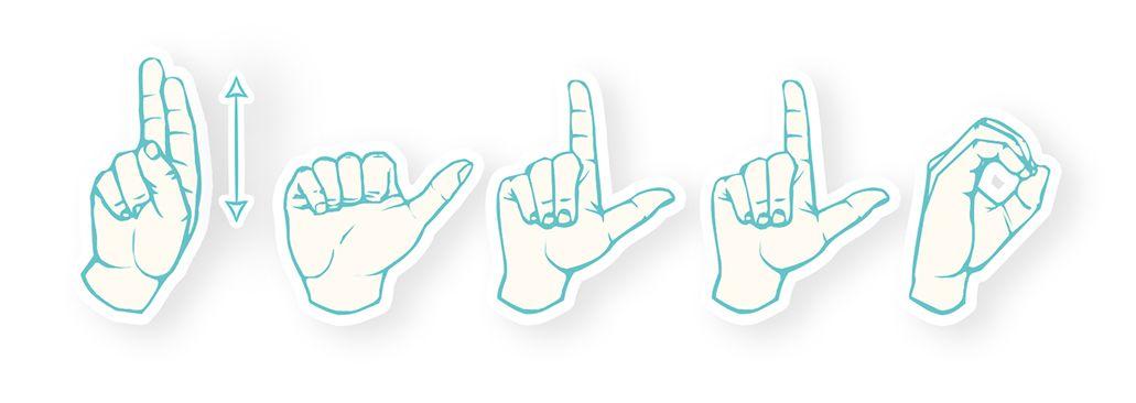 Dutch Sign Language Hello Nederlandse Dove Jongeren NDJ