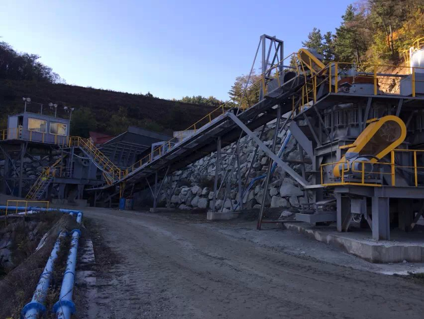 80 TPH Wolfram beneficiation plant in Korea 02