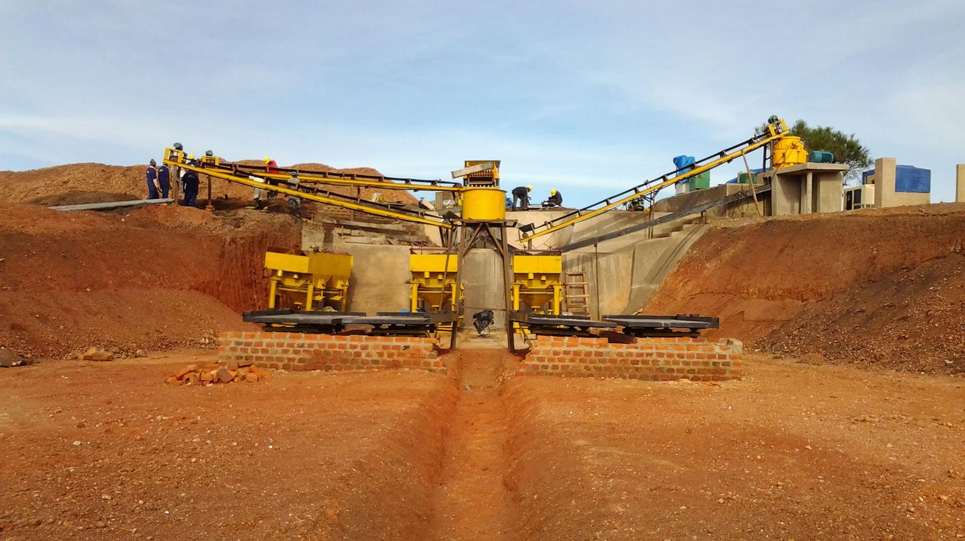 coltan mining plant in ugadan