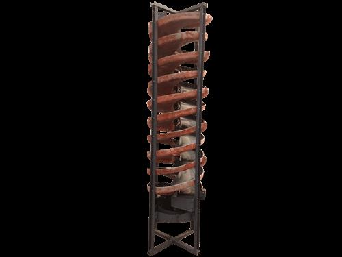 laboratory spiral chute