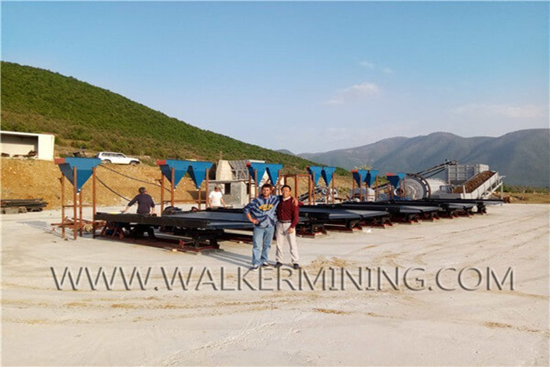 Albania rock chrome wash plant