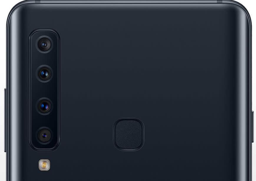 Samsung Galaxy A9 2018 con 4 camaras