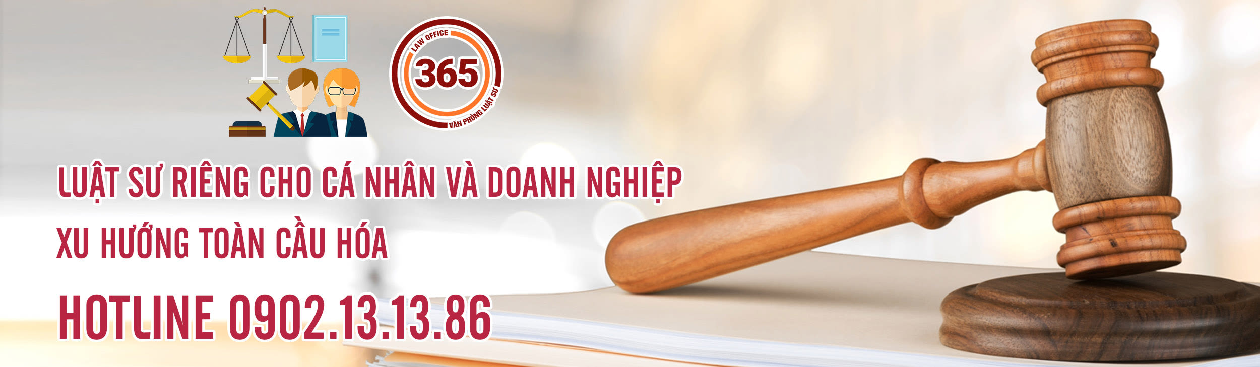 Banner Văn phòng luật sư 365