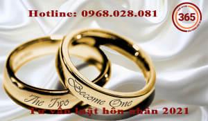 Tư vấn luật hôn nhân 2021