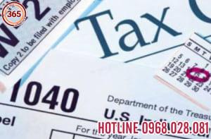 Dịch vụ tư vấn về thuế