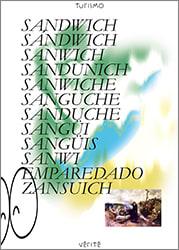 Sí, un sandwich poster.