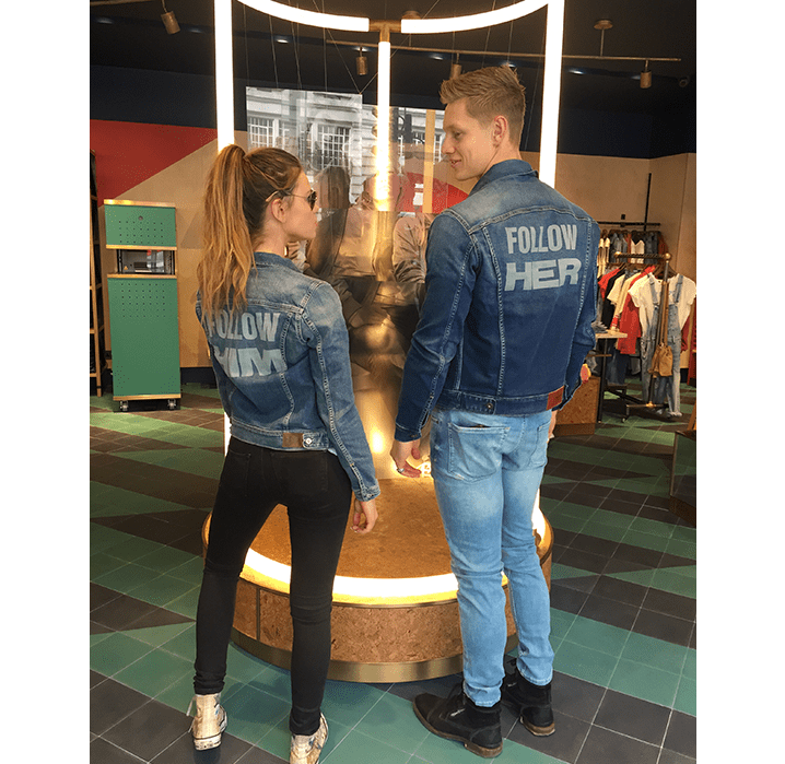 London's store opening strategy for Pepe Jeans.