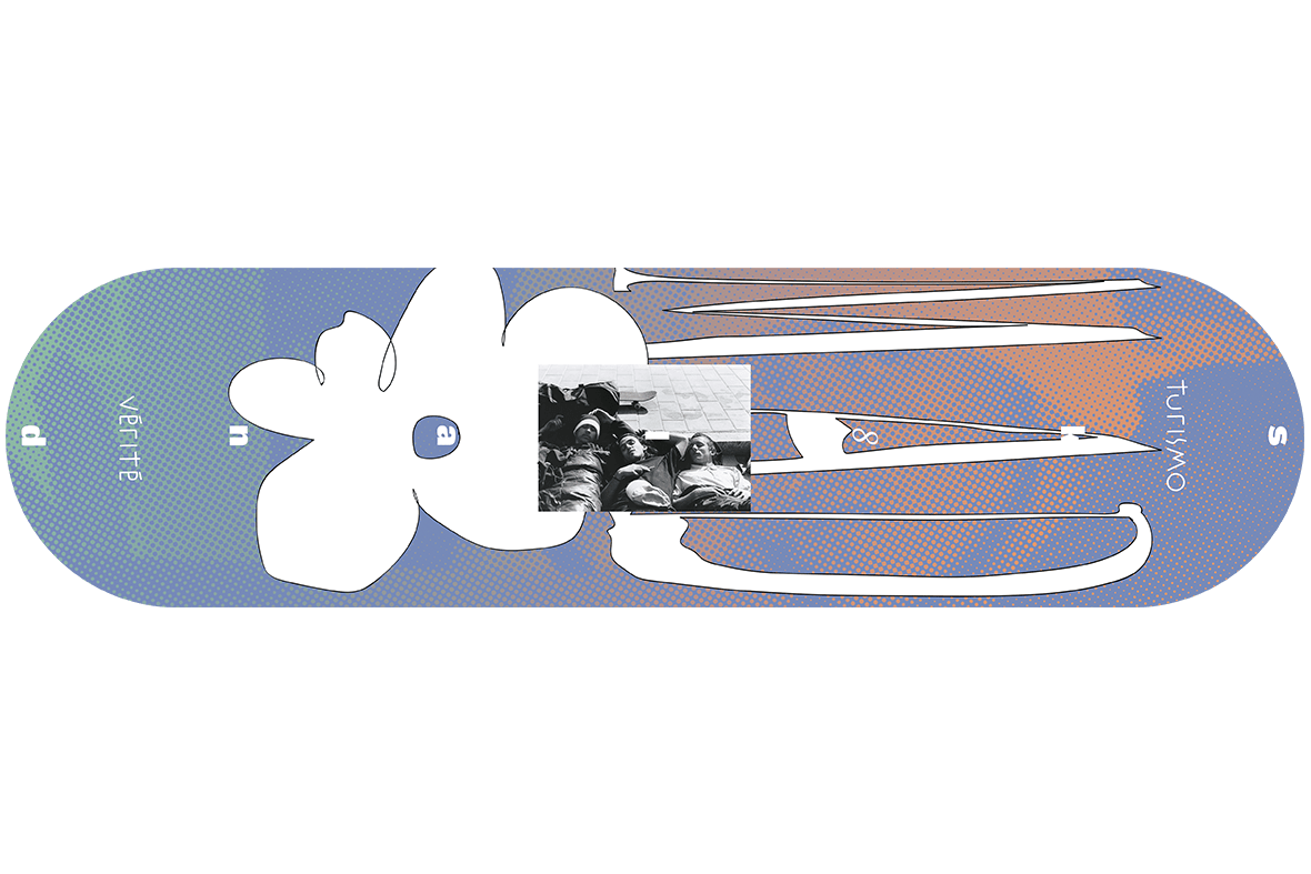 Skateboard design for Sk8land Madrid 2020
