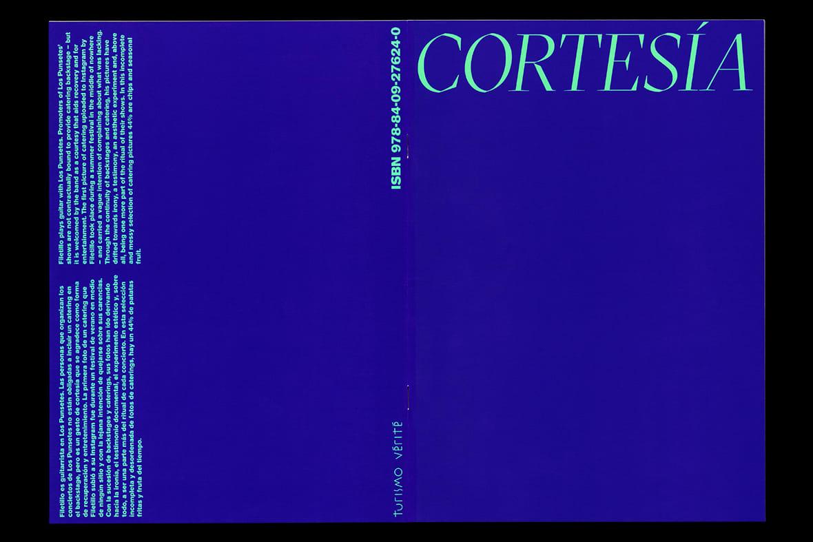 cortesía book graphic design turismo vérité turismo studio Madrid 2021