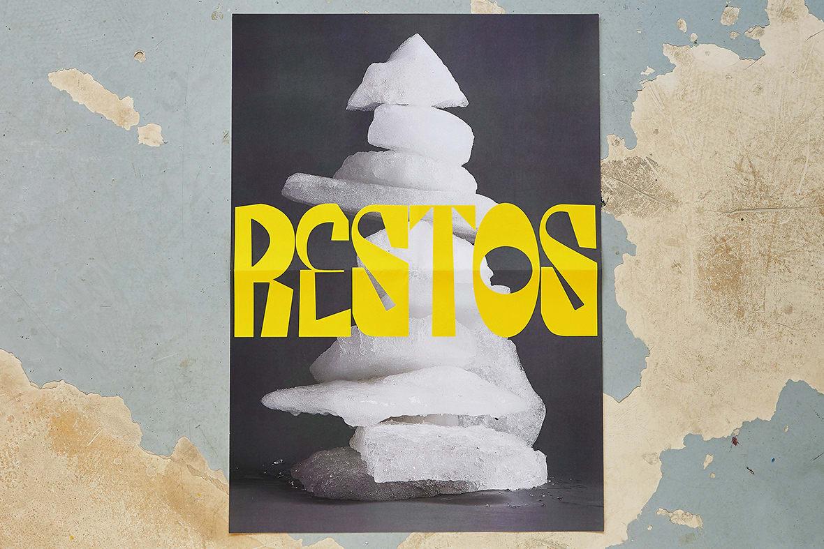 RESTOS art direction and graphic design Madrid 2021