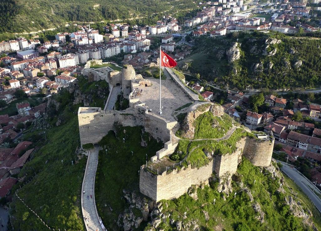 Kastamonu City in Turkey