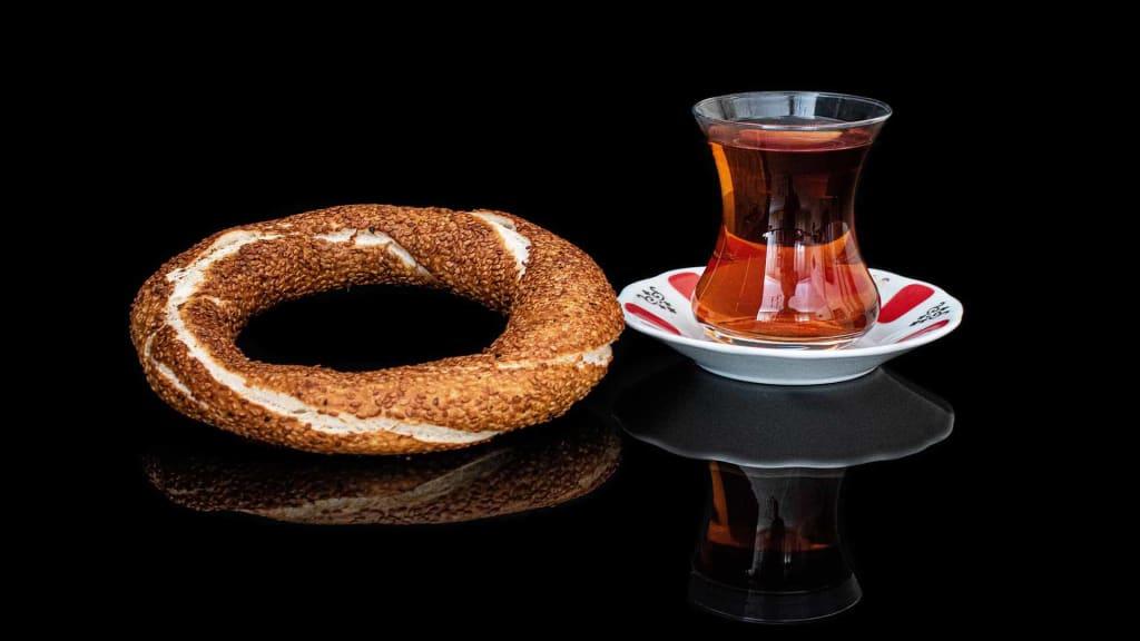 Tea with Simit
